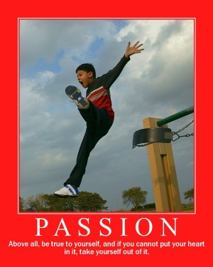 Passion Mode - Means taking the leap