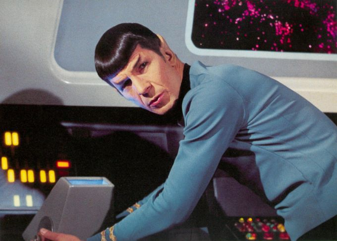 Mr. Spock...the ultimate Skeptic as defined in the MIchael Teaching