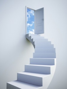 Stairway to infinite regress. Finding the past to be free in the future.